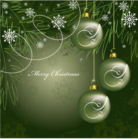 Fondo De Navidad Foto de archivo - 14916043