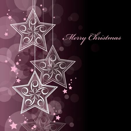 burgundy ribbon: Sfondo di Natale