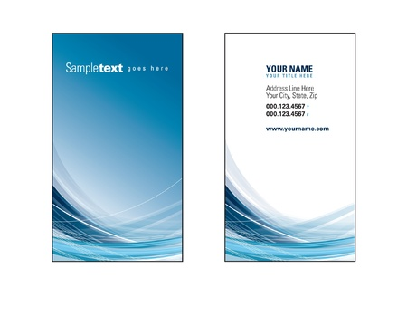 Business Card Template  Eps10