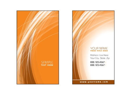 Business Card Template  Eps10  Vector