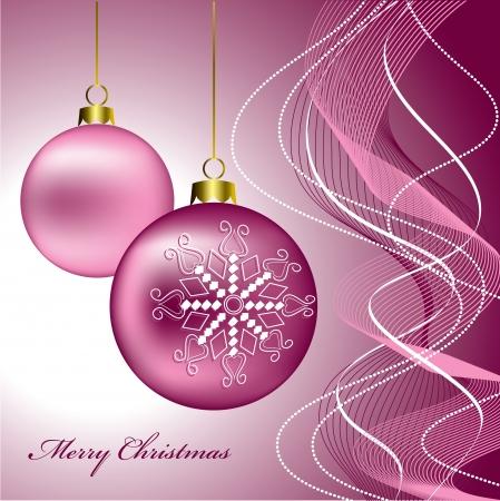 Kerst achtergrond Vector Illustratie eps10