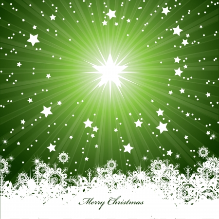 Christmas Background  Vector Illustration  eps10
