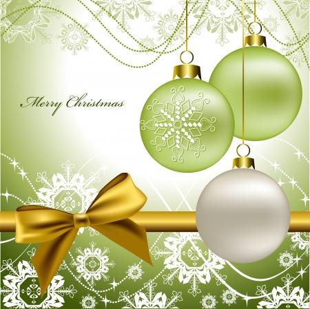 Christmas Background  Vector Illustration  eps10 Stock Vector - 14985640