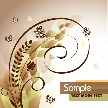 Floral Background Stock Vector - 14991021