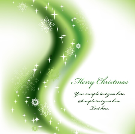 Christmas Background  Vector Illustration  Stock Vector - 14991187