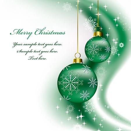 Kerst achtergrond Vector Illustratie Stockfoto - 14991283