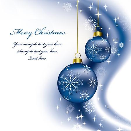 Christmas Background  Vector Illustration  Vettoriali
