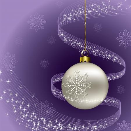 estrellas moradas: Antecedentes de Navidad ilustraci�n vectorial Vectores