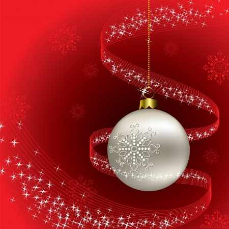 Christmas Background  Vector Illustration  Stock Vector - 14991242