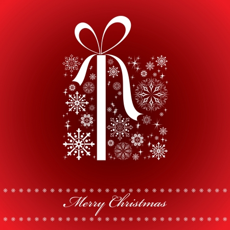 xmas background: Christmas Background  Vector Illustration  Illustration