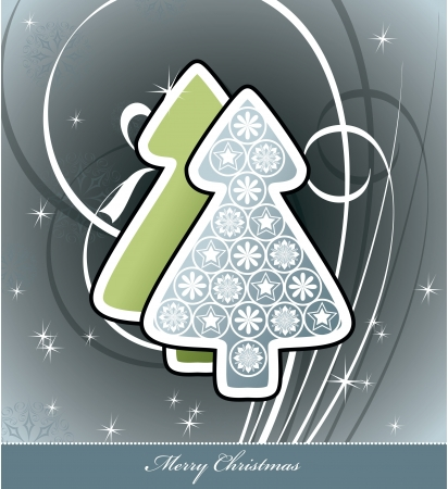 Christmas Background  Vector Illustration  일러스트