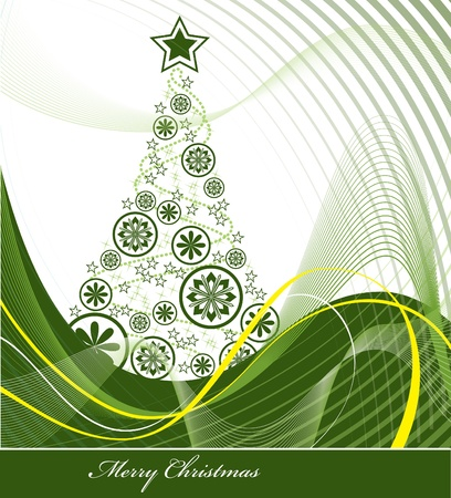 Christmas Background Stock Vector - 15014174