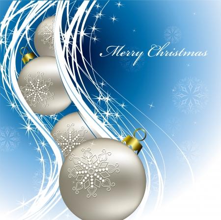 ornamented: Christmas Background  Vector Illustration  eps10