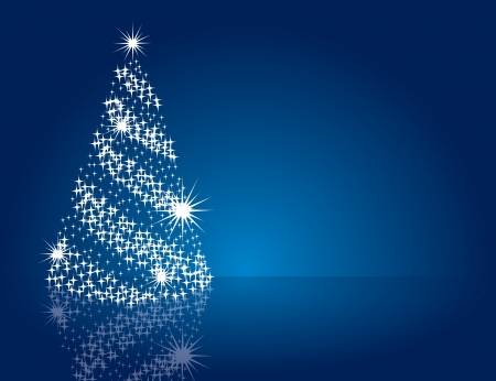blue christmas background: Christmas Background