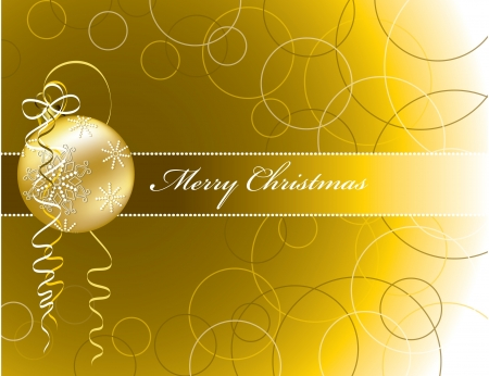 Christmas Background  Vector Illustration Stock Vector - 15014381