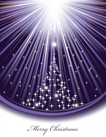 estrellas moradas: Fondo De Navidad