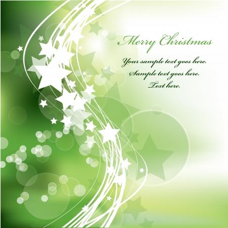 Christmas Background  Vector Illustration  Stock Vector - 15013603