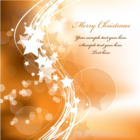 Christmas Background  Vector Illustration  Stock Vector - 15013604