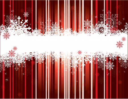 Christmas Background  Vector Illustration  Ilustração