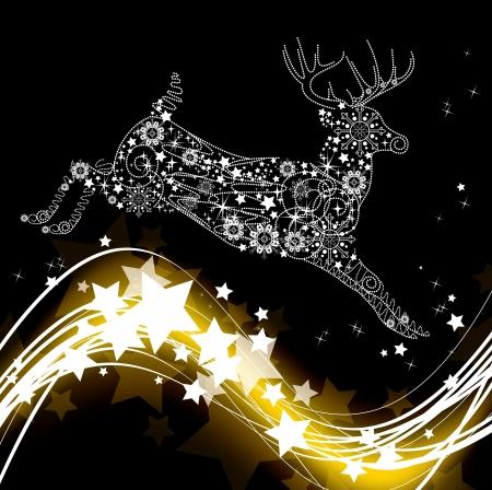 Kerst Achtergrond Eps10 Stock Illustratie