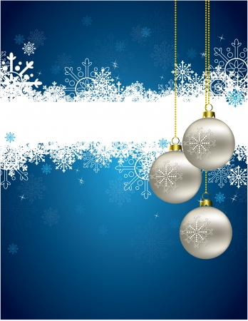 silver ribbon: Christmas Background