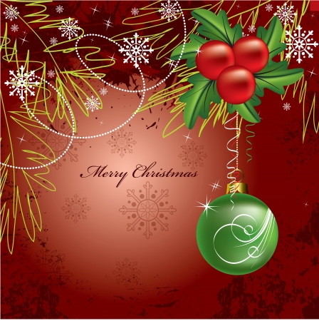 Christmas Background  Vector Illustration  Stock Vector - 15918100