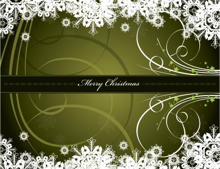 クリスマス背景ベクトル イラスト