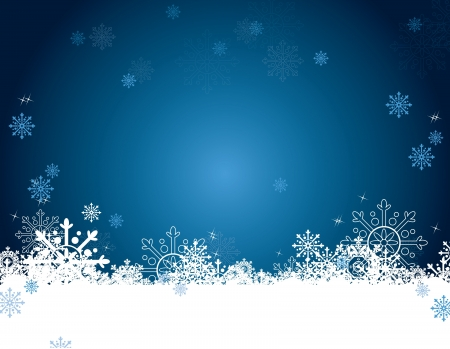 blue christmas background: Christmas Background