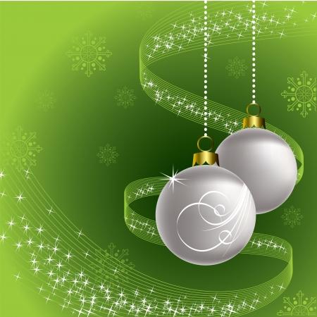 Christmas Background  Vector Illustration Stock Vector - 15918117