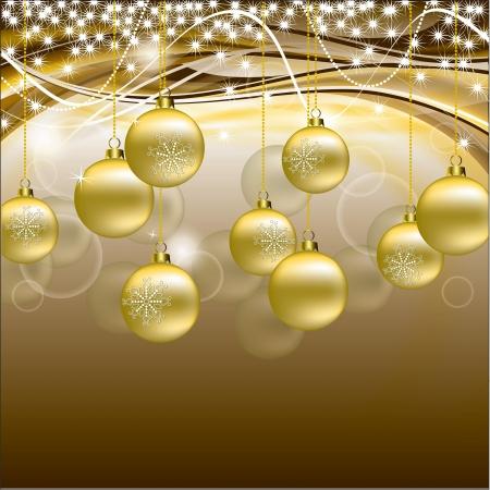 물결: 크리스마스 배경