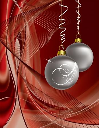 Christmas Background  Illustration  Ilustracja