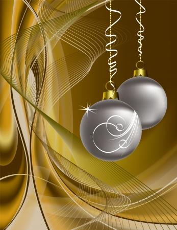 Christmas Background  Illustration  矢量图像