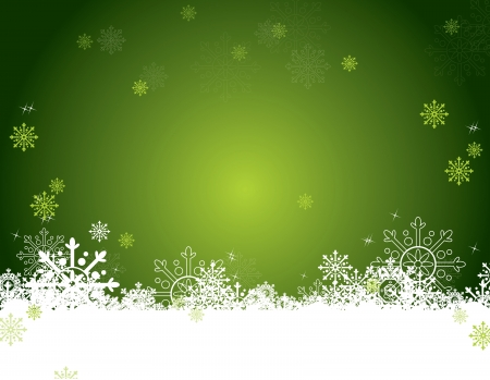 green background: Christmas Background
