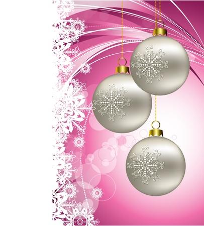 Kerst Achtergrond Stock Illustratie