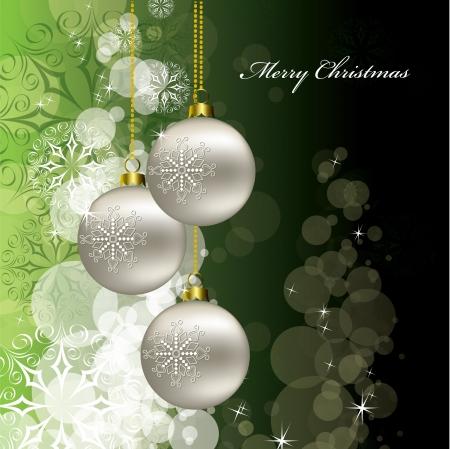 Kerst Achtergrond Illustratie Stockfoto - 16052692