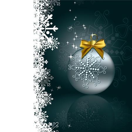 mirrow: Christmas Background  Vector Illustration  eps10