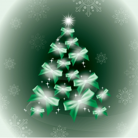 green lines: Christmas Background