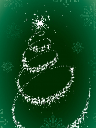 Christmas Background Stock Vector - 16453560
