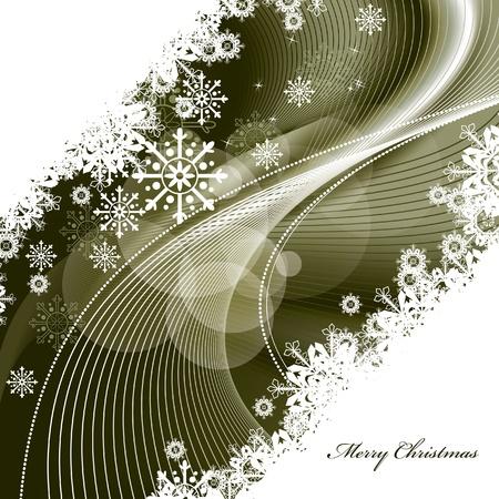 winding: Christmas Background    Illustration