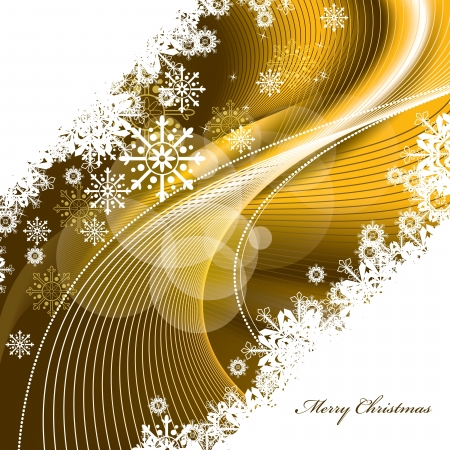 curling: Christmas Background