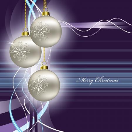 christmas postcard: Christmas Background