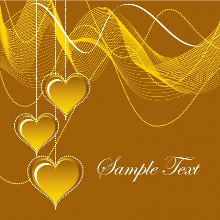 friendship day: Valentines Day Background  Vector Illustration