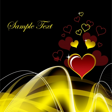 romance image: Valentines Day Background  Vector Illustration