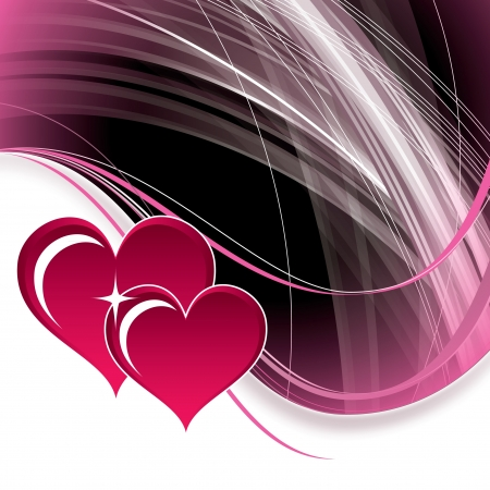 Valentines Day Background  Vector Illustration Stock Vector - 17303559
