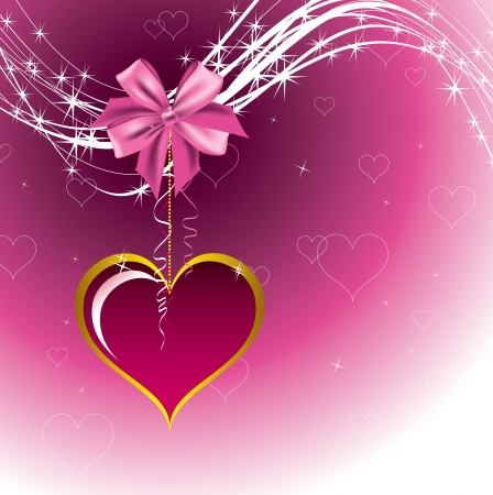 Valentines Day Background  Vector Illustration Stock Vector - 17303480