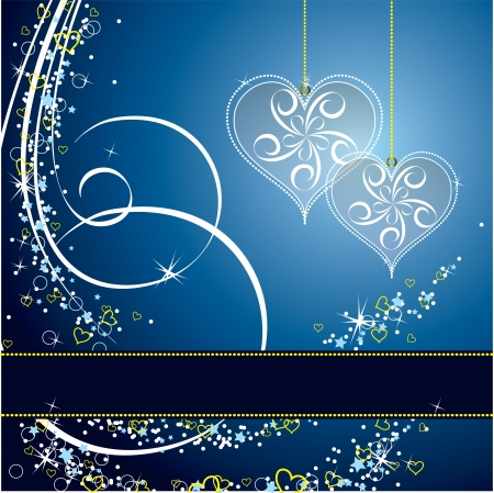 Valentines Day Background  Vector Illustration  Vector