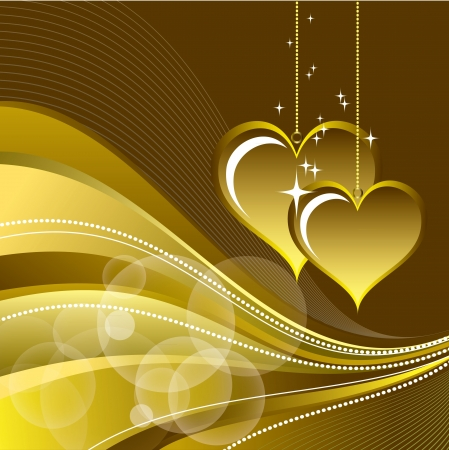 Valentines Day Background  Vector Illustration Stock Vector - 17303484
