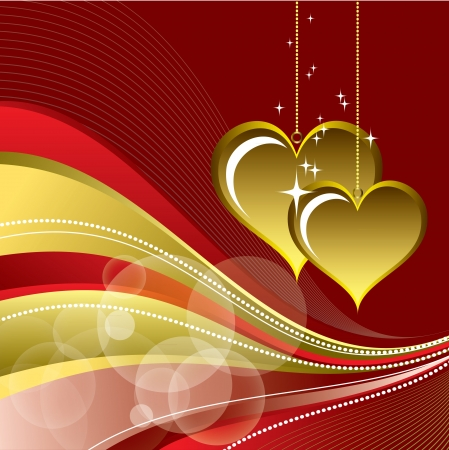 Valentines Day Background  Vector Illustration Stock Vector - 17303486