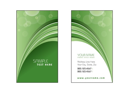 Business Card Template Stock Vector - 17323630