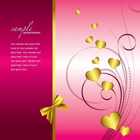 Valentines Day Background   Illustration Stock Vector - 17346179